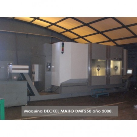 DECKEL MAHO DMF-250 2008 HI-SPEED 5-axis
