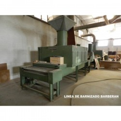 Varnishing line BARBERAN