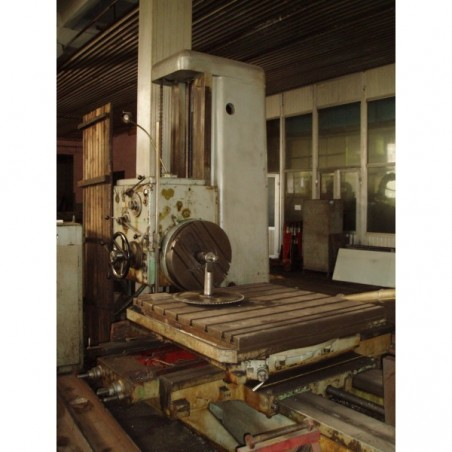 Horizontal boring machine TOS H100A, 1962 year
