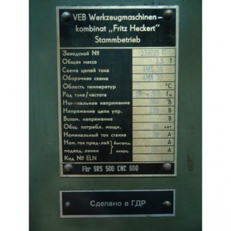 Fkr SRS 500 CNC600