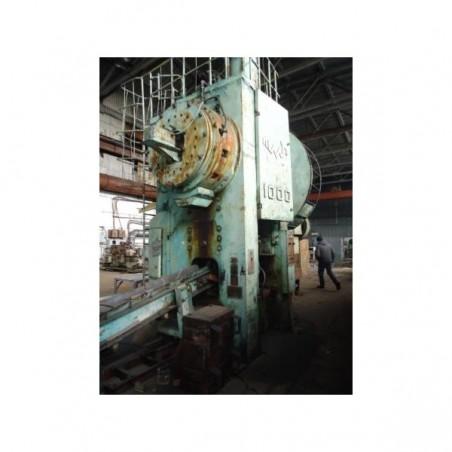 Hot forging press, 1000t force, model KO 4019840