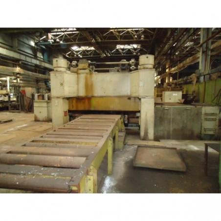 Metal sheet leveling machine UBR 16*2500