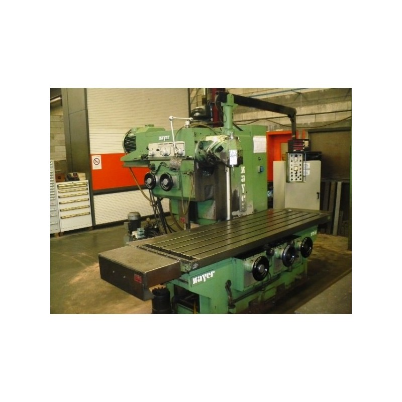 FIXED 77AF ZAYER BED MILLING MACHINE