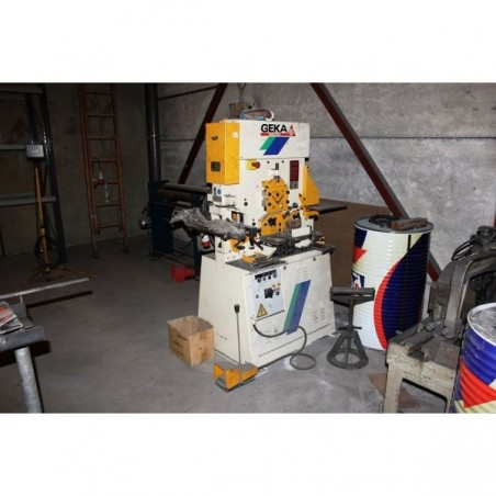 GEKA 50 BENDICROP PUNCHING MACHINE