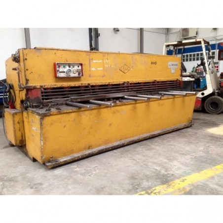 Shearing machine hydraulic AJIAL 3,000 x 6 MM.  MODEL: 630