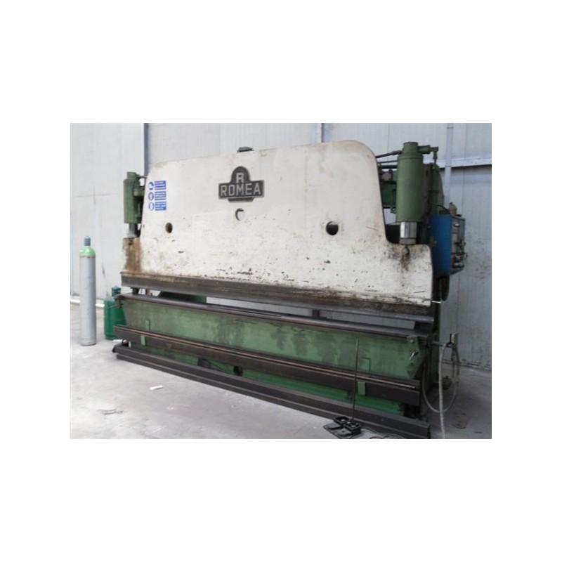 "Plegadora Hidraulica "" ROMEA 4100x100 Tonn"" made in Italy"
