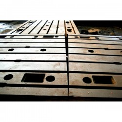 Floor Plates in cast iron 1750 x 3850 mm