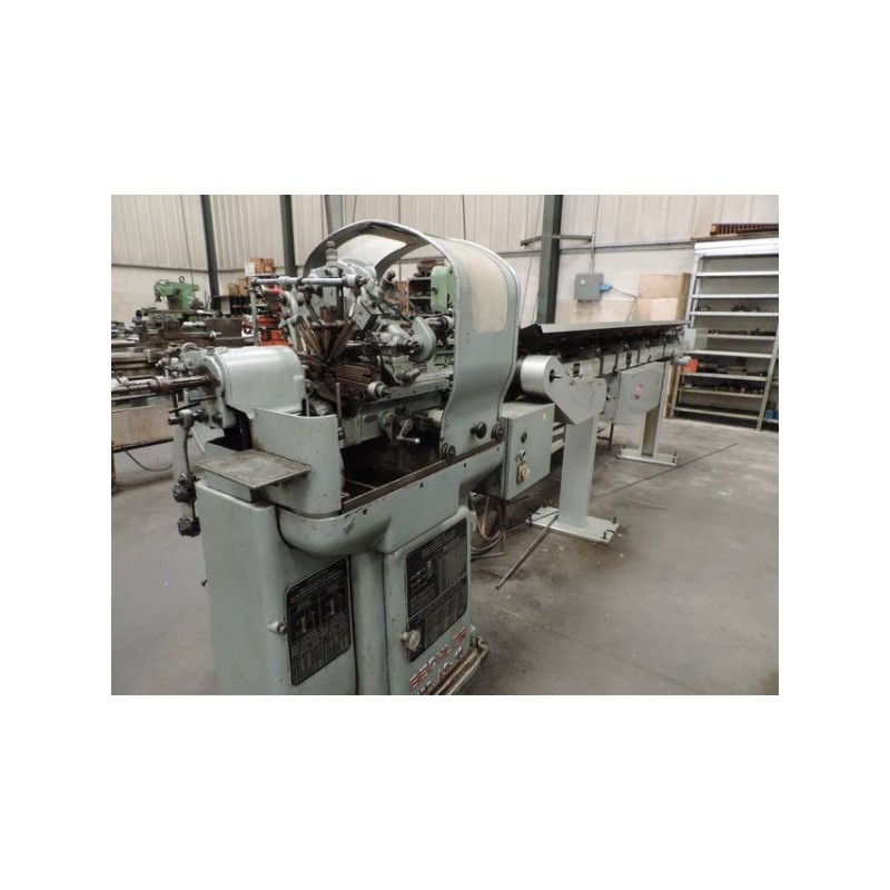 TORNO DE CABEZAL MOVIL BECHLER AS-10 (Con cargador Automático TRAUB)