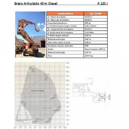 BRAZO ARTIC DIESEL GROVE A 125 J, 40 M