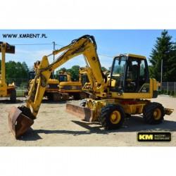 excavadora de ruedas Komatsu PW110R 2007