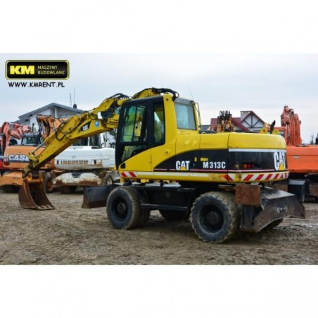 excavadora de ruedas Caterpillar M313C 2005