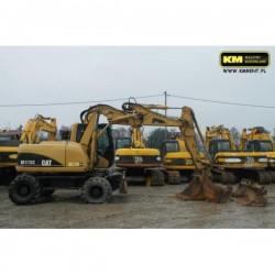 excavadora de ruedas Caterpillar M313C 2007
