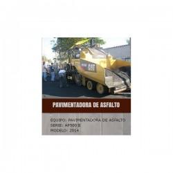 PAVIMENTADORA 500 E