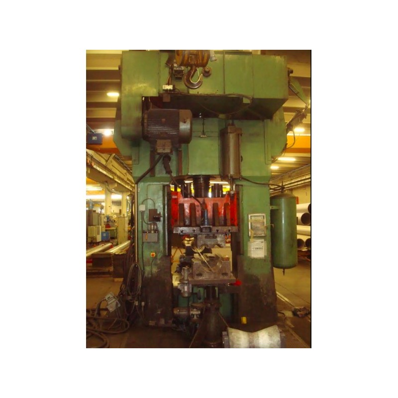 Screw press 600 ton