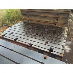 Floor Plates cast iron 2490 x 4000 mm